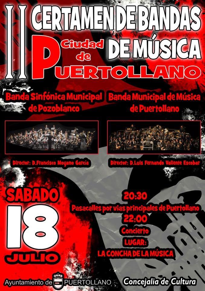 El ii encuentro de bandas municipales unir a puertollano - El tiempo en puertollano por horas ...