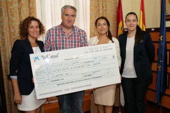 M s de 50 familias se beneficiar n en almod var del campo de los euros donados por la obra - Pisos de obra social la caixa ...